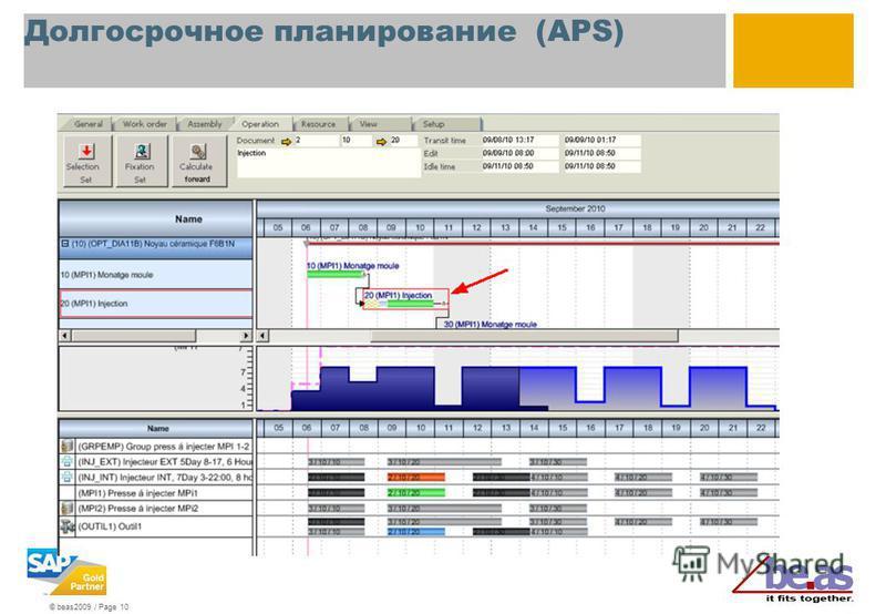 © beas2009 / Page 10 Долгосрочное планирование (APS)
