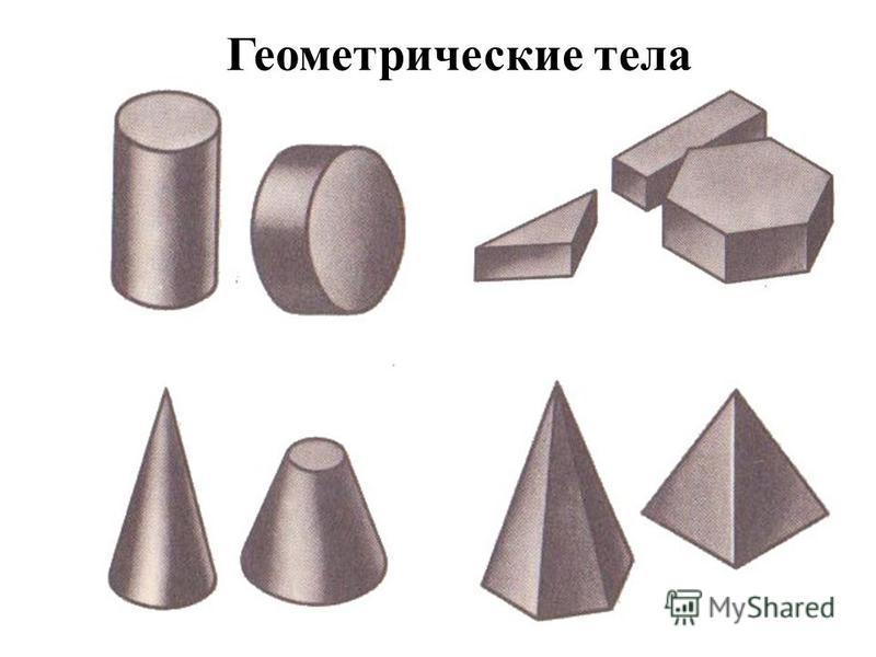 Геометрические тела