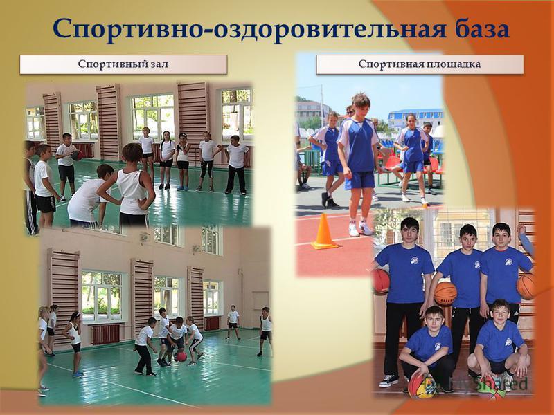 Спортивно-оздоровительная база Спортивный зал Спортивная площадка