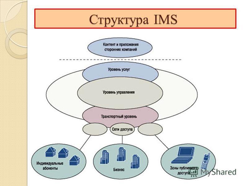 Структура IMS Структура IMS