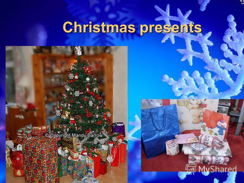 Christmas presents Christmas presents