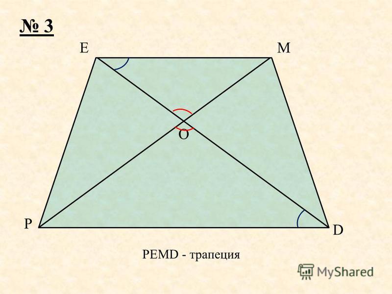 P M D E O 3 PEMD - трапеция