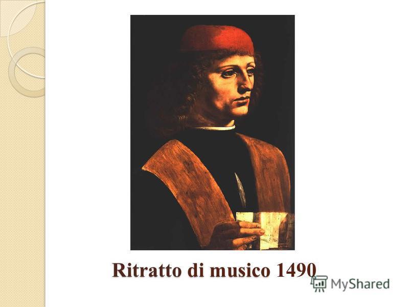 Ritratto di musico Ritratto di musico 1490