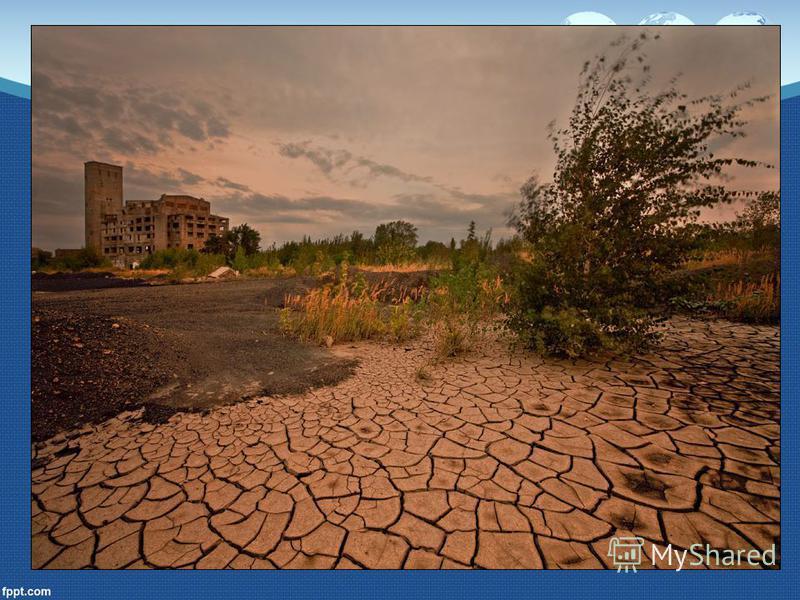 Суховей Суховей – это сухой горячий ветер. Он также усиливает испарения и приводит к быстрому высыханию почвы. Продолжительные засухи, усиленные суховеями, могут привести к гибели урожая сельскохозяйственных культур.