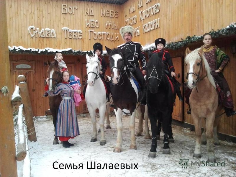 Семья Шалаевых