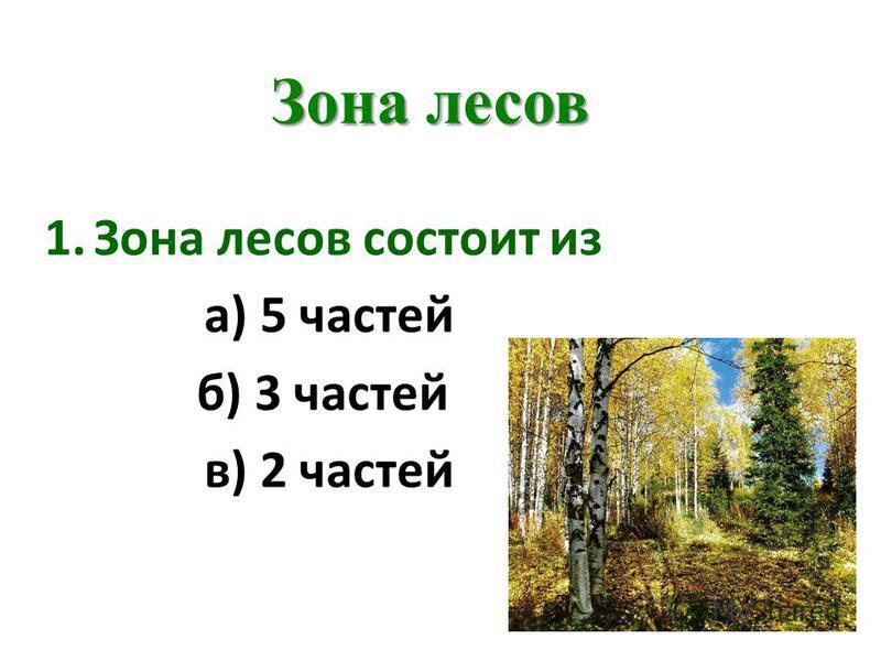 Тесты по окр.миру природные зоны 4 класс с ответами