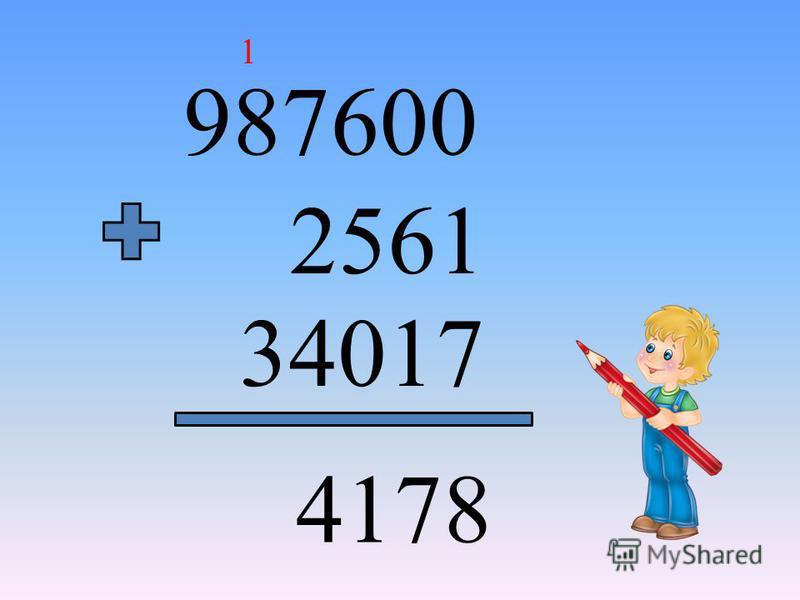 987600 2561 34017 4178 1