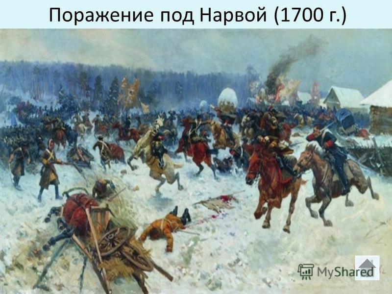 Поражение под Нарвой (1700 г.)