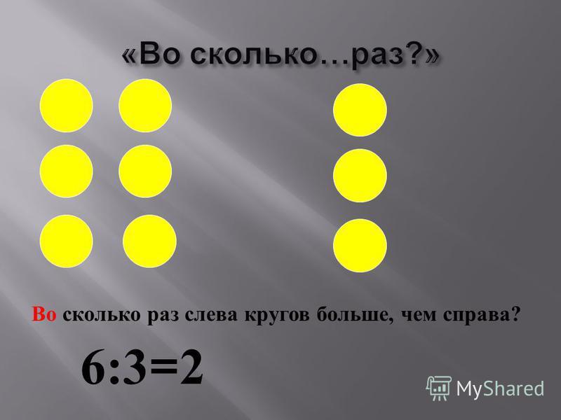 Число кругов уменьшить в 2 раза. 8:2 = 4