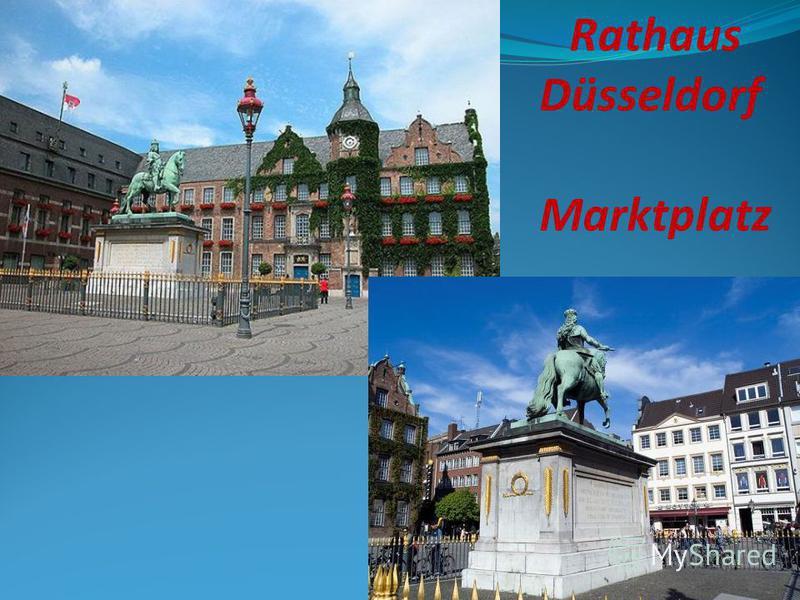 Rathaus Düsseldorf Marktplatz
