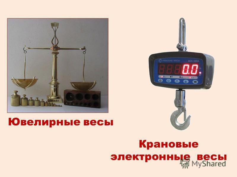 Ювелирные весы Крановые электронные весы