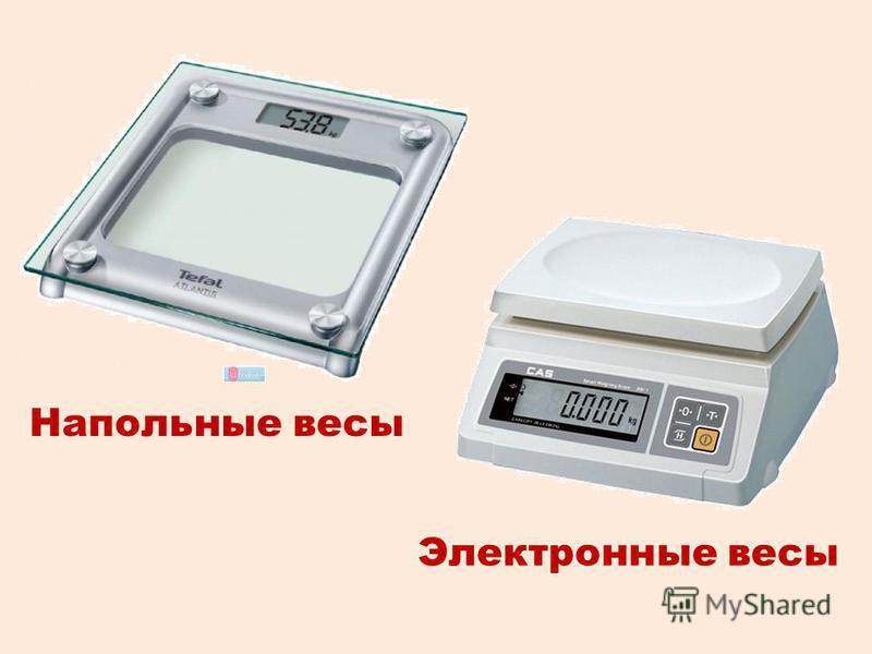 Электронные весы Напольные весы