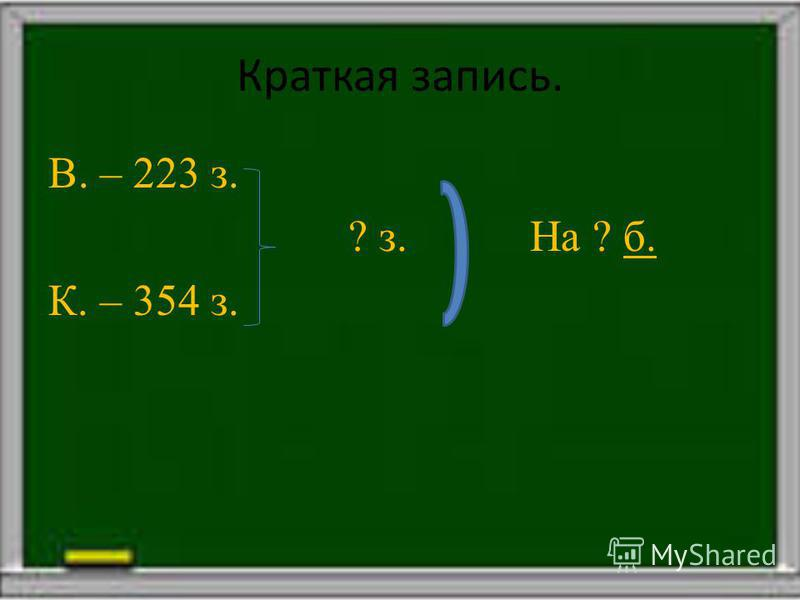 Алгоритм решения задачи: 1. Анализ условия. 2. Составление краткой записи. 3.Решение. 4. Запись ответа.