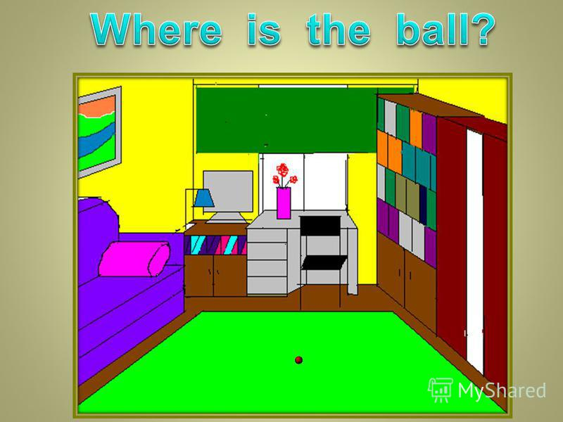 1. Is the room big and light? 2. What colour is the floor? 3. What is there on the floor? 4. What is there on the window? 5. What colour is it? 6. What is there in front of the window? 7. What is there at the desk? 8. What is there in the right-hand