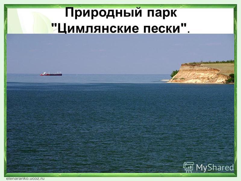 Природный парк Цимлянские пески.