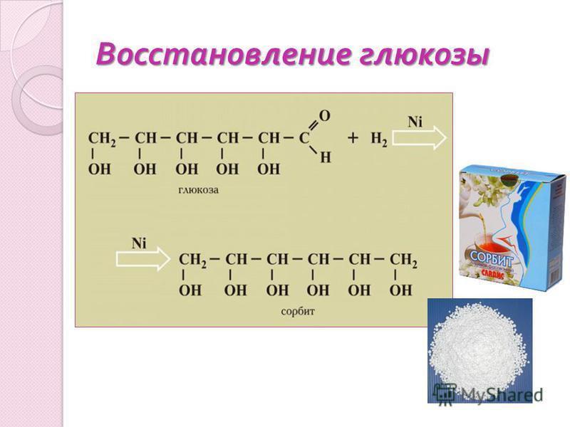 Восстановление глюкозы