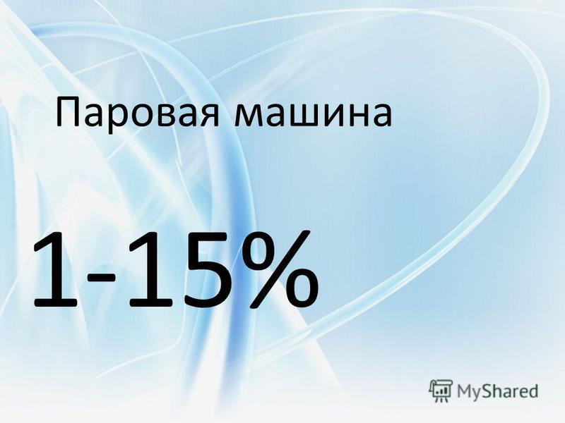Паровая машина 1-15%