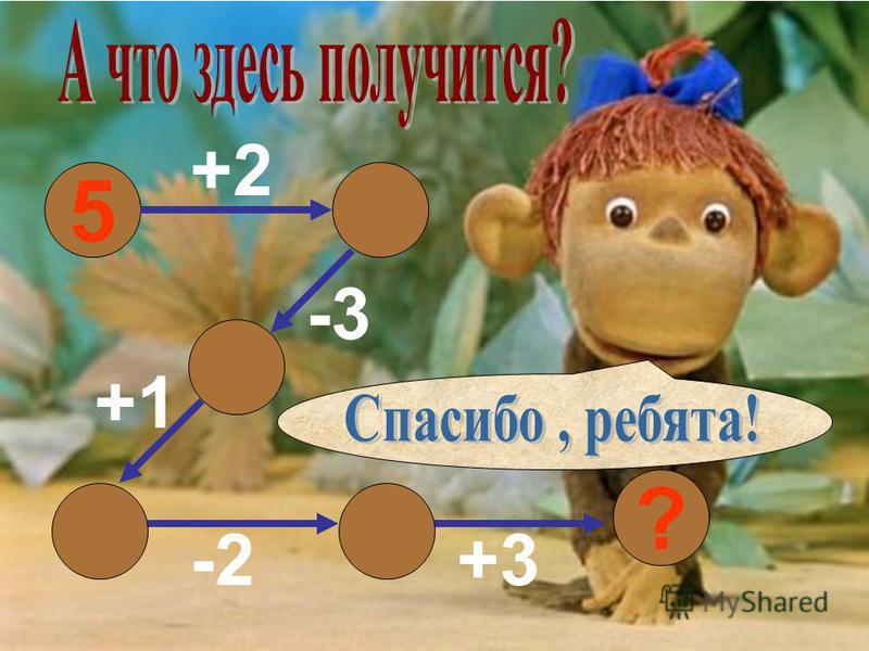5 +2 -3 +1 -2+3 6 ? 7 4 53