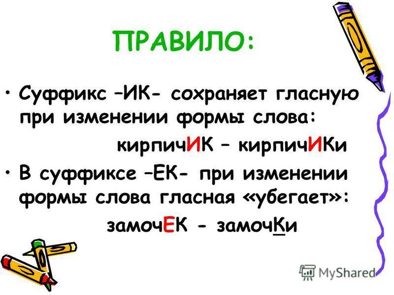 Скачать бесплатно и без регистрации поурочную разработку по русскому языку 3 класс суффикс