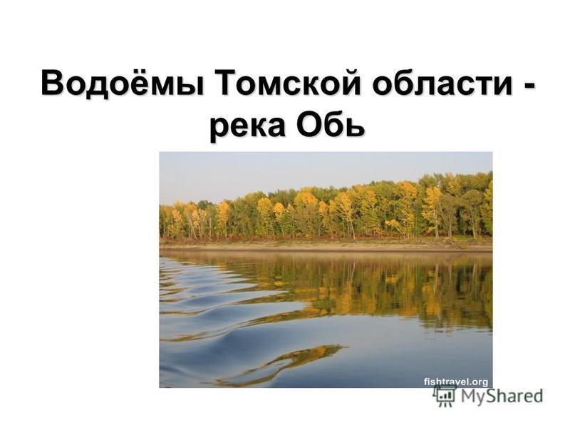 Водоёмы Томской области - река Обь