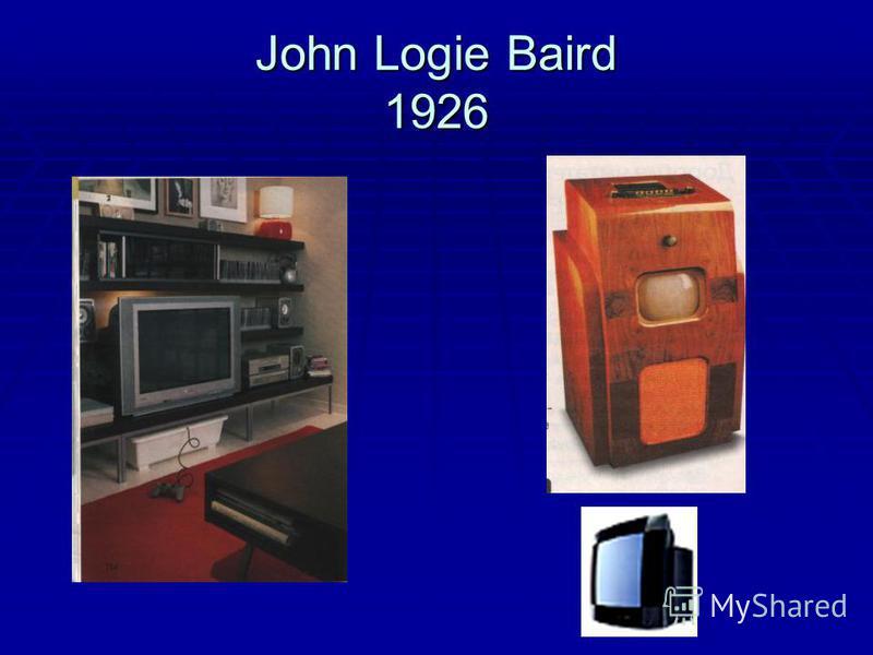 John Logie Baird 1926