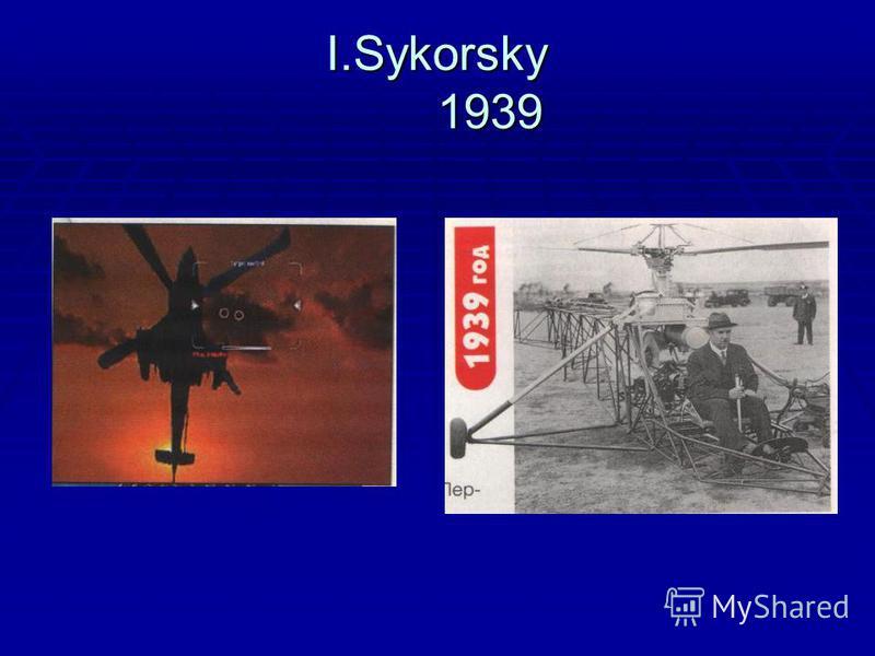 I.Sykorsky 1939