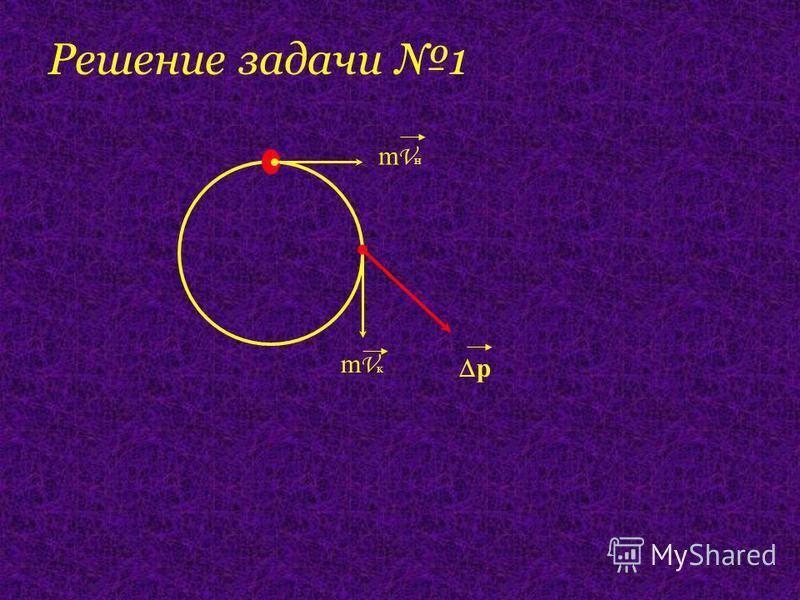 mVнmVн mVкmVк p Решение задачи 1