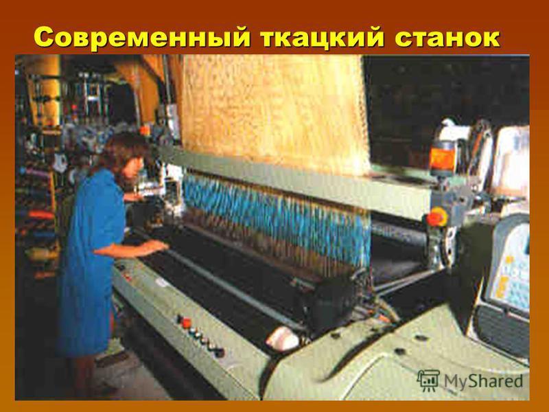 Современный ткацкий станок
