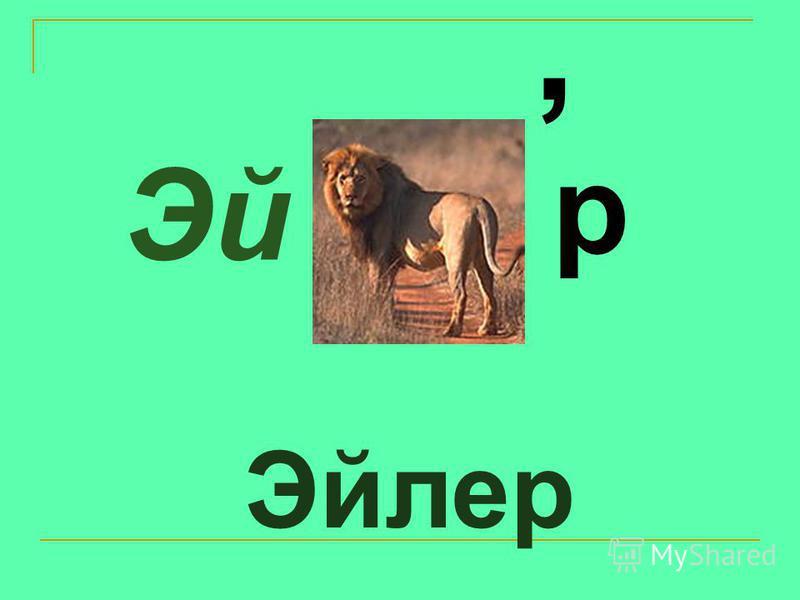 Эйлер Эй, р