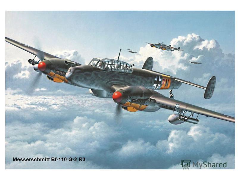Messerschmitt Bf-110 G-2 R3