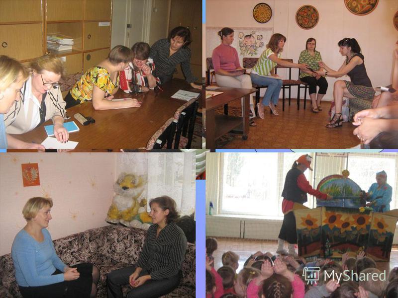 Организация методической работы С воспитателями С социумом Со специалистами С родителями