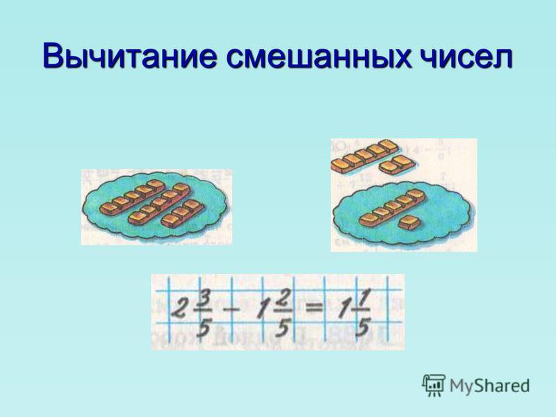 При сложении смешанных чисел целые части складывают отдельно, а дробные – отдельно. При сложении смешанных чисел целые части складывают отдельно, а дробные – отдельно. Иногда при сложении смешанных чисел в их дробной части получается неправильная дро
