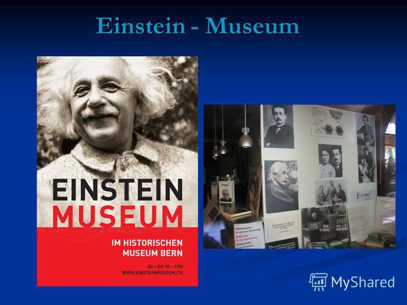 Einstein - Museum