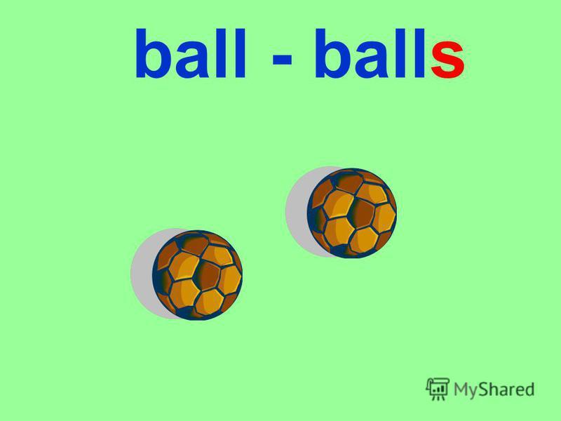 ball - balls