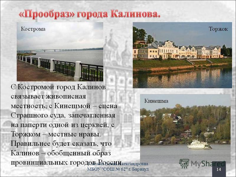 14 Глазина Елена Александровна МБОУ СОШ 62 г. Барнаул