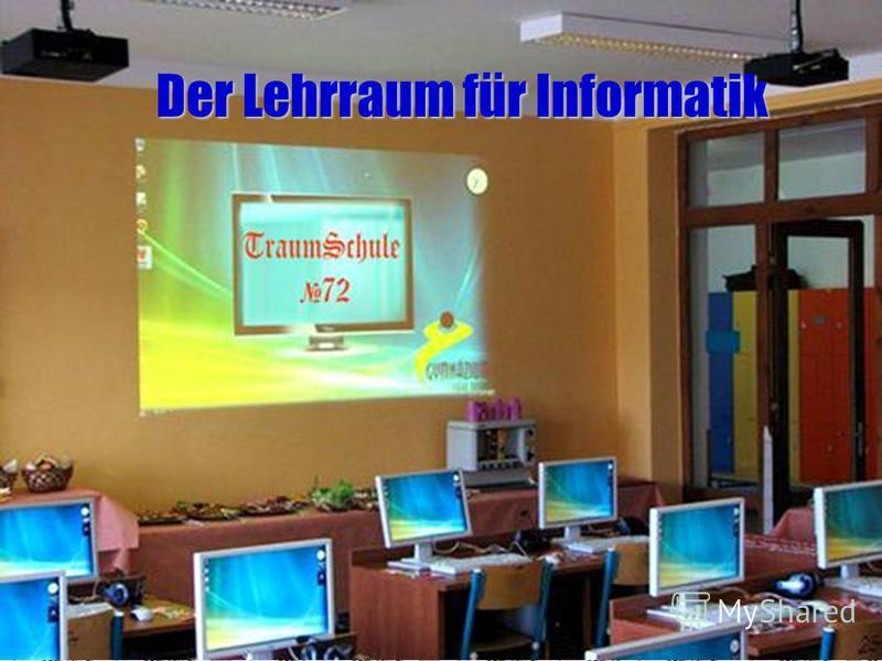 Der Lehrraum für Informatik