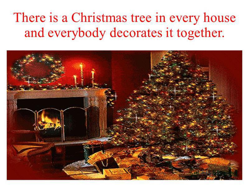 Candy canes and gingerbread often decorate the family table, Christmas tree and the fire place.