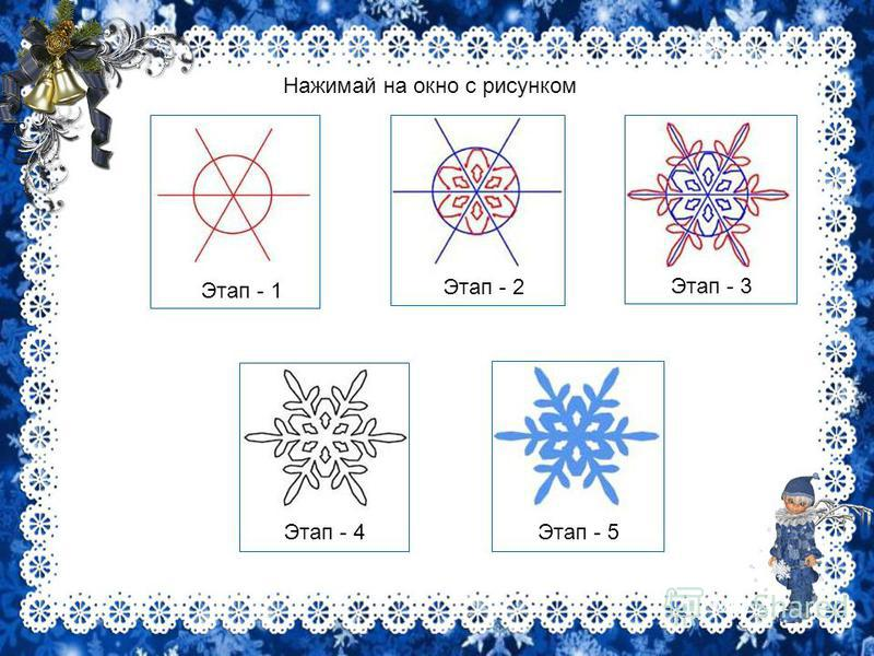 Конспект урока рисования узоры на окне во 2 классе