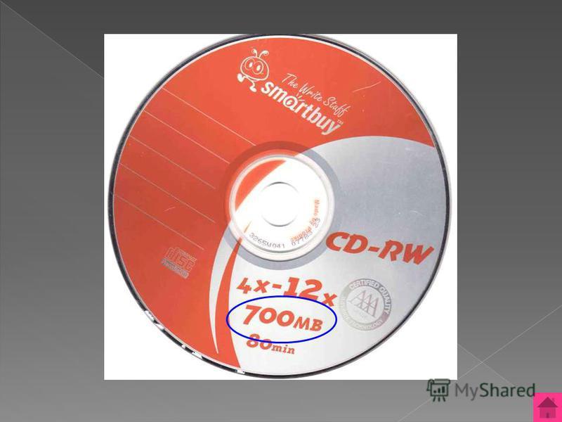 700 МВ Сколько информации можно записать на лазерный CD диск? ОТВЕТ