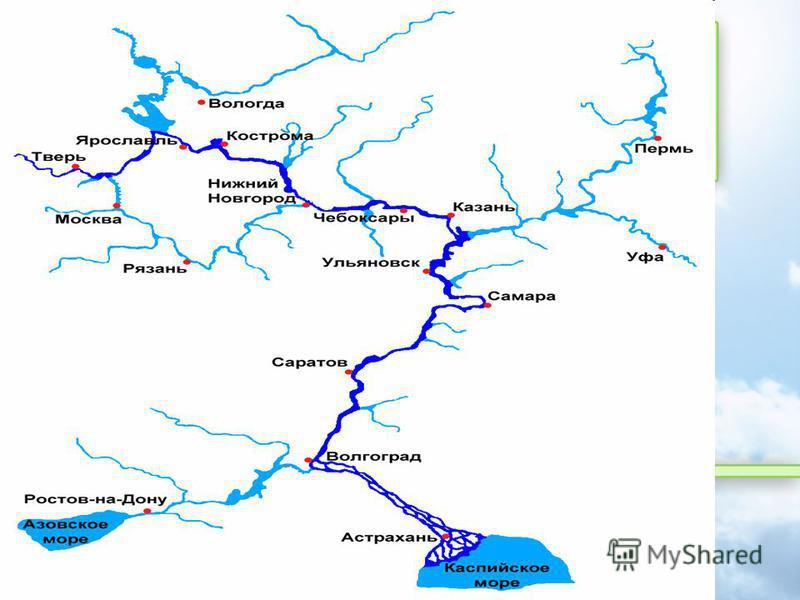 Бассейн р. Волга