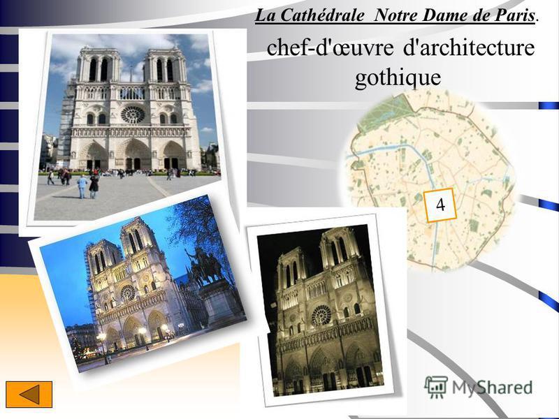 La Cathédrale Notre Dame de Paris. chef-d'œuvre d'architecture gothique 4