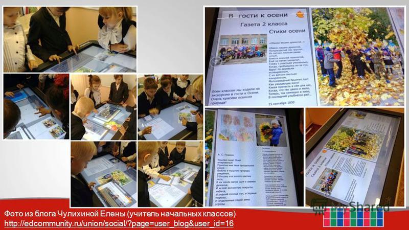 Фото из блога Чулихиной Елены (учитель начальных классов) http://edcommunity.ru/union/social/?page=user_blog&user_id=16