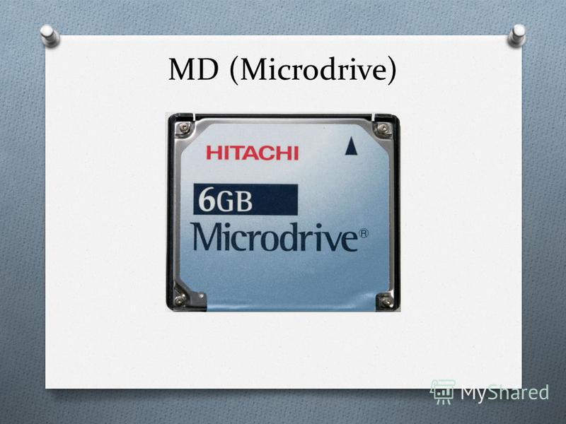 MD (Microdrive)