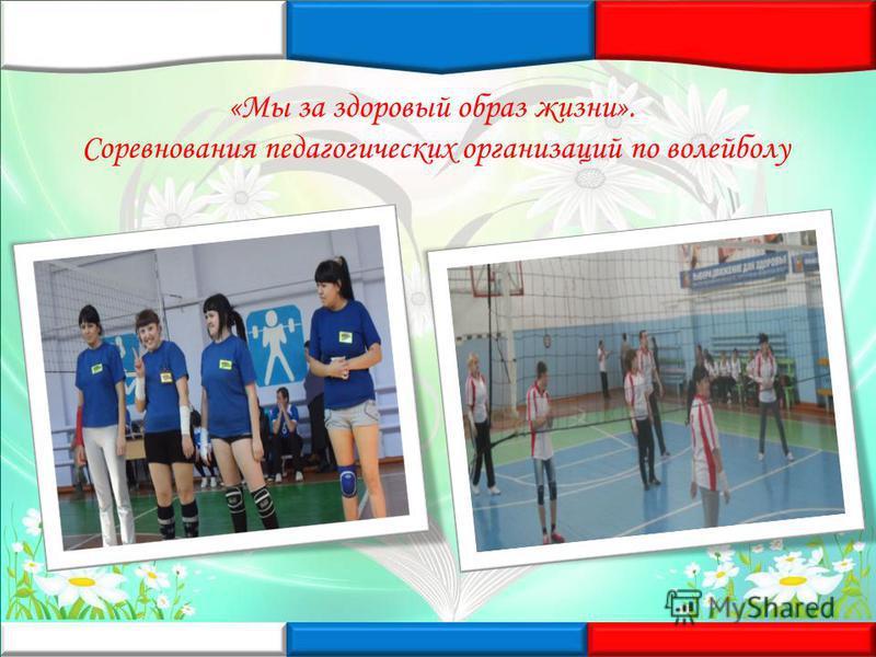 «Мы за здоровый образ жизни». Соревнования педагогических организаций по волейболу