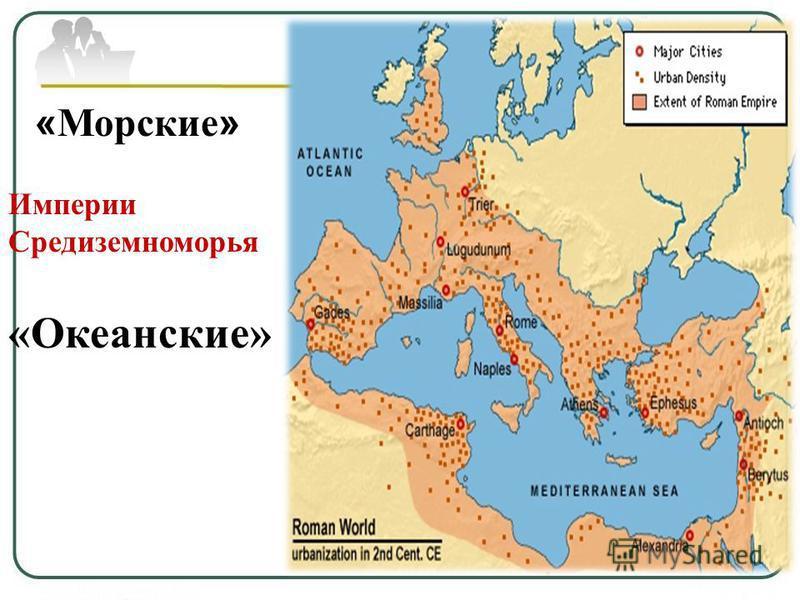 « Морские » Империи Средиземноморья «Океанские»