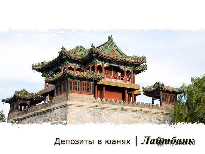 Депозиты в юанях | Лайтбанк