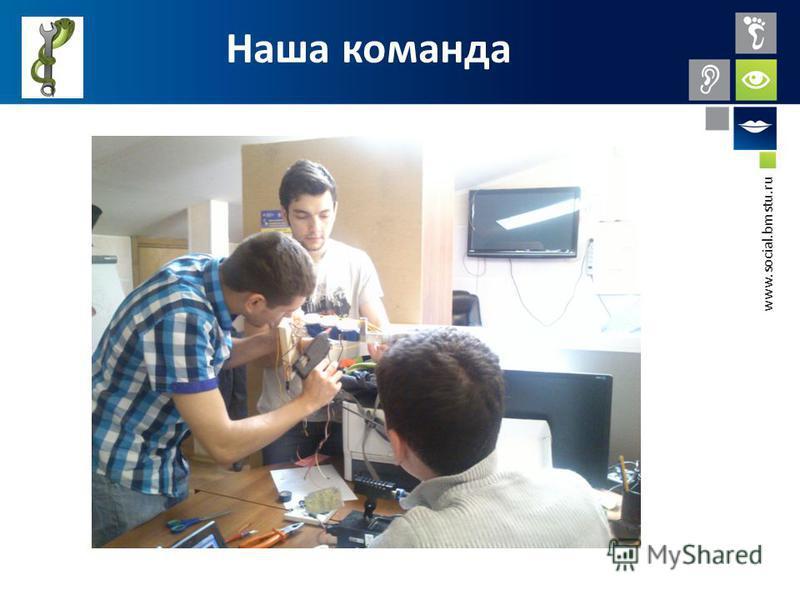 www.social.bmstu.ru Наша команда