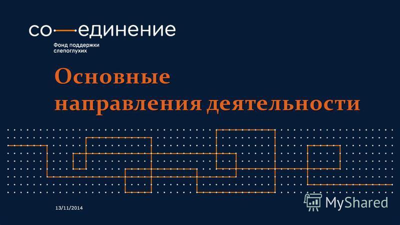 Основные направления деятельности 13/11/2014