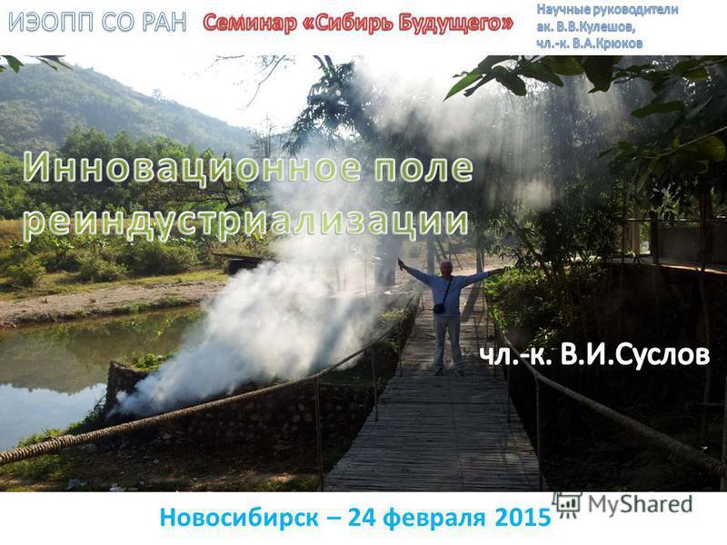 Новосибирск – 24 февраля 2015