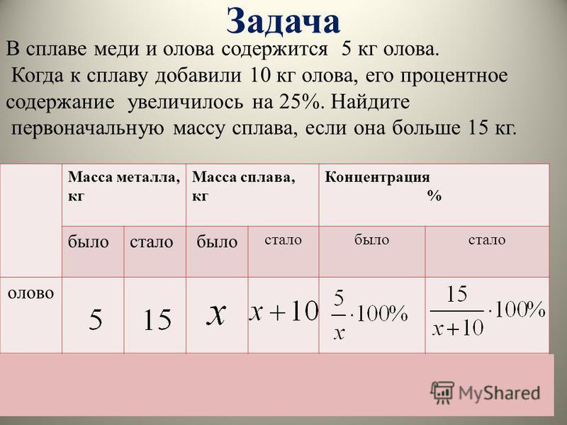Составь таблицу и реши задачу